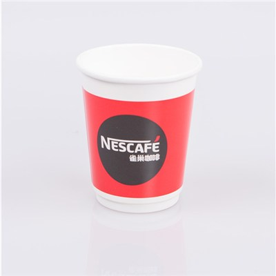 Printed double wall hot cups
