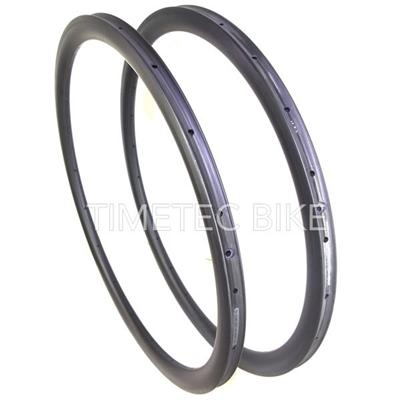 Cyclocross Carbon Bike Rims∣38mm Depth 25 Width∣Clincher And Tubular ∣U Shape∣With Basalt Braking Surface∣Cyclocross Rim Disc
