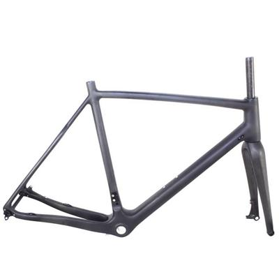 2016 OEM Super Light Carbon Fiber Cyclocross Frame∣Compatible Road Racing Bike Frame Cyclocross CX Carbon Frame∣UD Matt Glossy∣Disc Brakes∣DI1 And Mechanical Derailleur Compatible