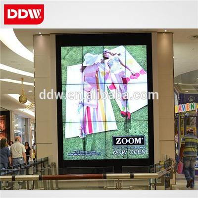 58 Inch ,Only 5.3mm Ultra narrow bezel.high quality 4K Lcd Video Wall resolution 1920*1080