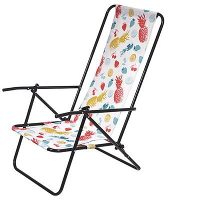 Favoroutdoor 2 Position Beach Chair-With High Back Stay Low To The Sand