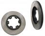 Nissan Pick Up drill and slotted ventilated brake disc