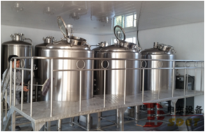 Used brewery equipment for sale, craft brewery 5bbl