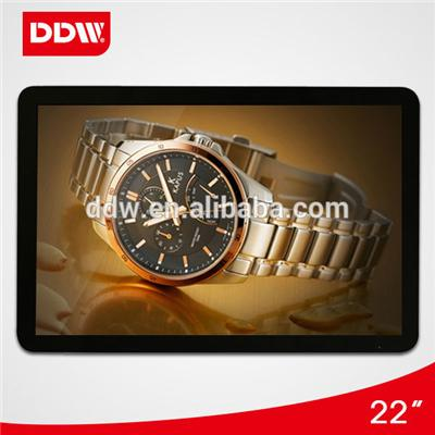 19 Inch wall mount android Digital Signage Displays Max Resolution 1920*1080