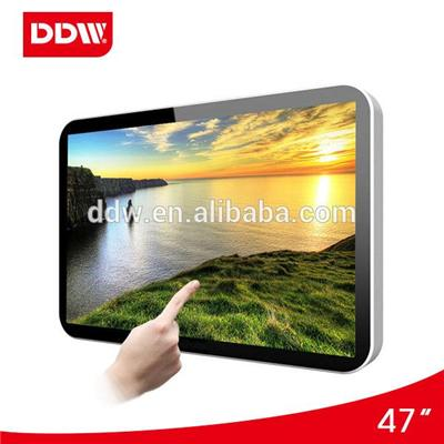 47 Inch TFT Wall Mount Touch Screen digital signage Max Resolution 1920*1080