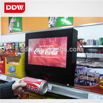 Indoor 55 Inch Network Led Digital Signage Displays Response Time 3ms DDW-AD5501WN