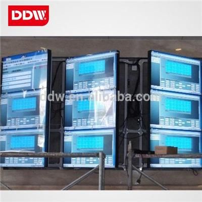 Side Door Open Front Access Hydraulic Video Wall Rack Brightness 500nits Response