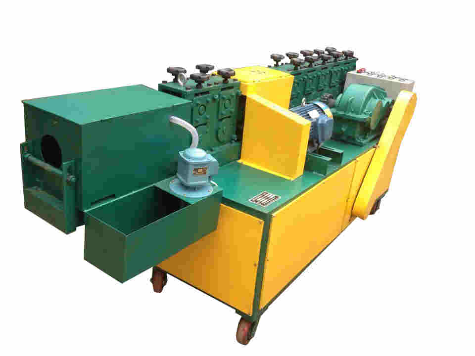 Hyperbolic steel tube straightening machine