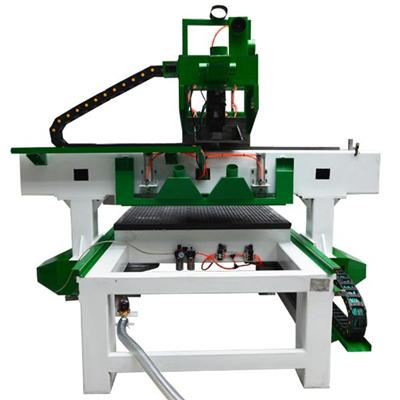 Automated Servo Driver Vacuum Table Multi Head Computer Table Furniture Wooden Counter Plywood Cutting 3 Axis Cnc Router
