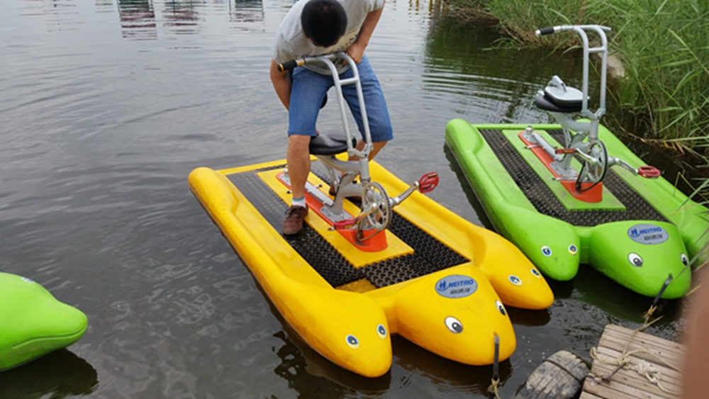 HEITRO one seat dolphin type water bike for one person