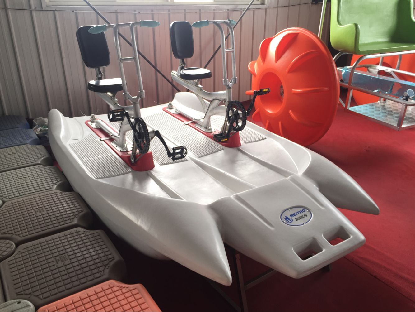 HEITRO double seats dolphin water bike with best price
