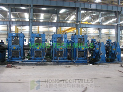 API standard hong tech mills forming lines pipe tube forming machines line solution technology