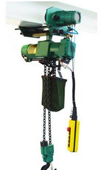 High Capacity Compressed Air Hoist Large Frame
