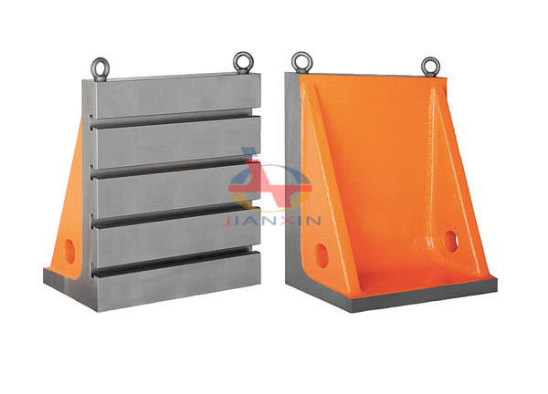 Cast Iron T Sloted Webbed Angle Plate