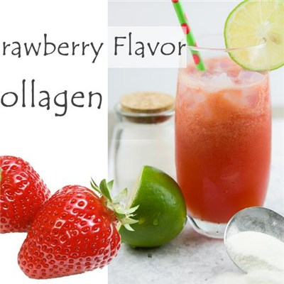 Fish Collagen Solid Drink Strawberry Flavor