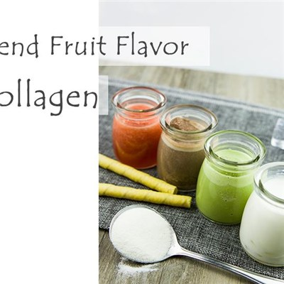 Fish Collagen Solid Drink Blend Fruit Flavor