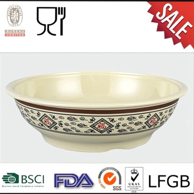 Durable Large Size Melamine Soup Bowl,Melamine Gift Bowl,Melamine Dinner Bowl
