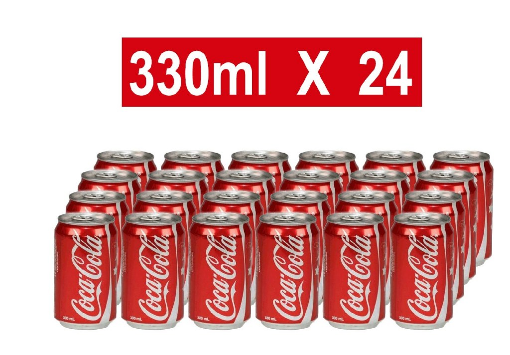 Coca-Cola 330ml Soft drinks