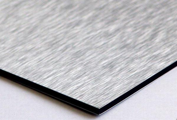 Brushed aluminium composite panel supplier