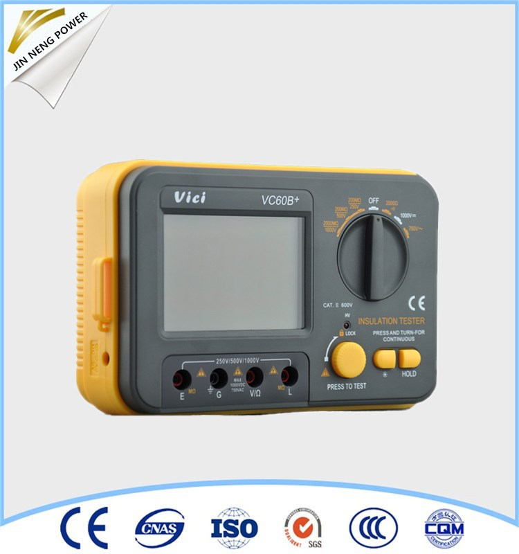 Vici60B+ Insulation resistance tester