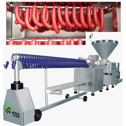 Sausage Making Machine with Various Sausage Casings
