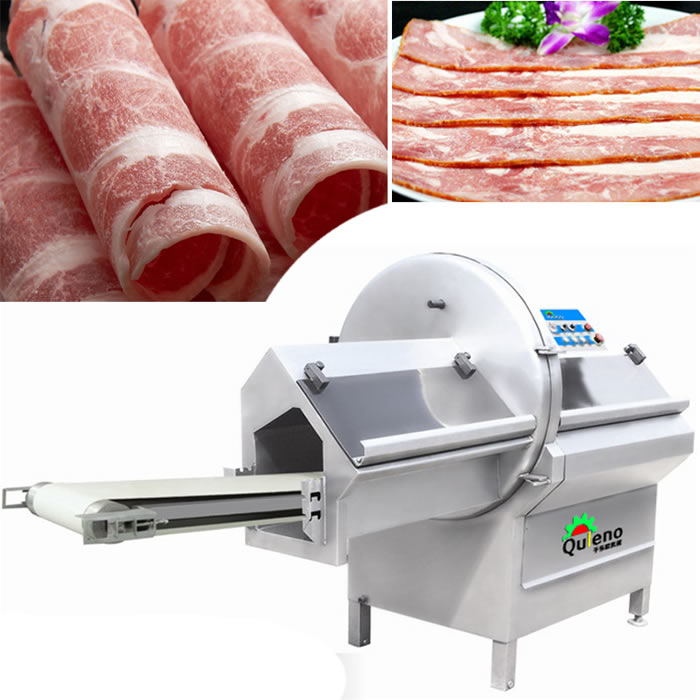 Food Processing Machinery Frozen Meat Cheese Ham Slicer Machine