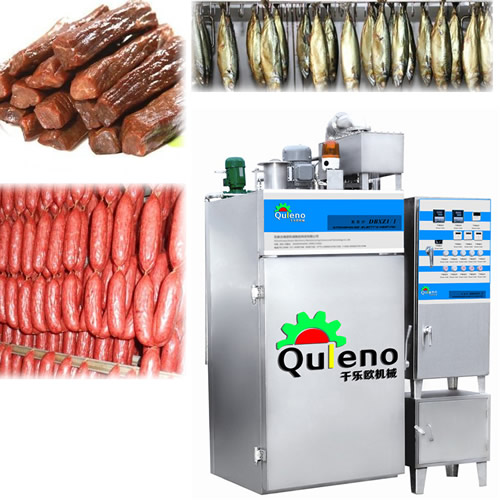 Stainless Steel Chicken Fish Smoker Machine Smokehouse