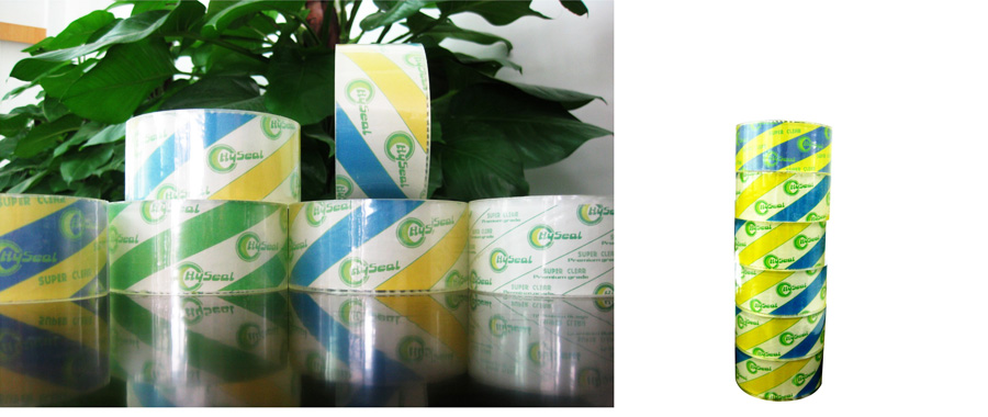 Best Quality BOPP Packing Tape With Printed Logo/custom logo printed packing tape