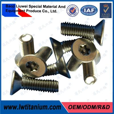 Titanium Hexagon Socket Countersunk Screws