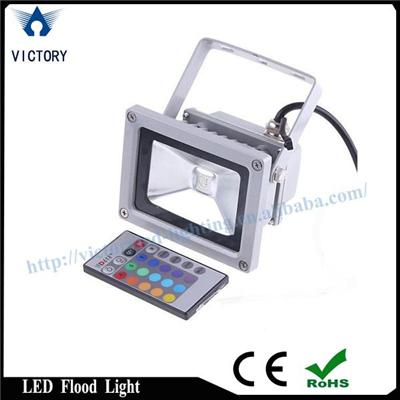 RGB Induction LED Flood Light 10W