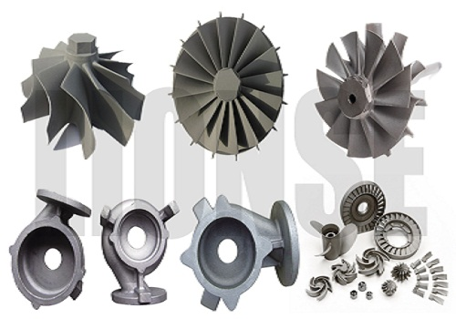 nickel alloy IN625 casting turbo for marine turbochargers,impeller,vane,gas turbine,turbine housing