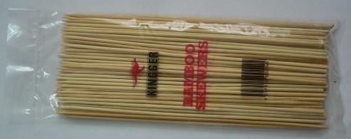 Customized Raw Natural Wholesale BBQ Bamboo Skewers Sticks