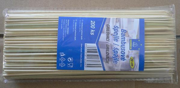 Natural High Quality Square Bamboo Skewers Supplier Manufacturer