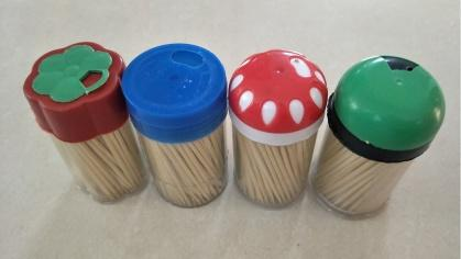 Factory Price Promotional Single Point 1000 pcs Bamboo Toothpick