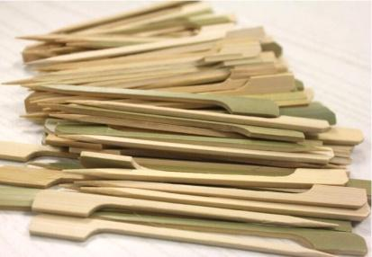 Small BBQ Dried Natural Round Bamboo Sticks Supplier Manufacturer