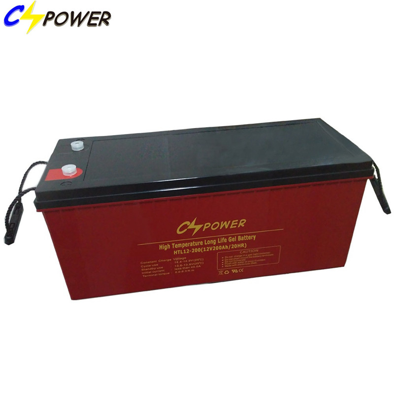 12V 200ah Gel Solar Energy Storage Battery for Hot Area