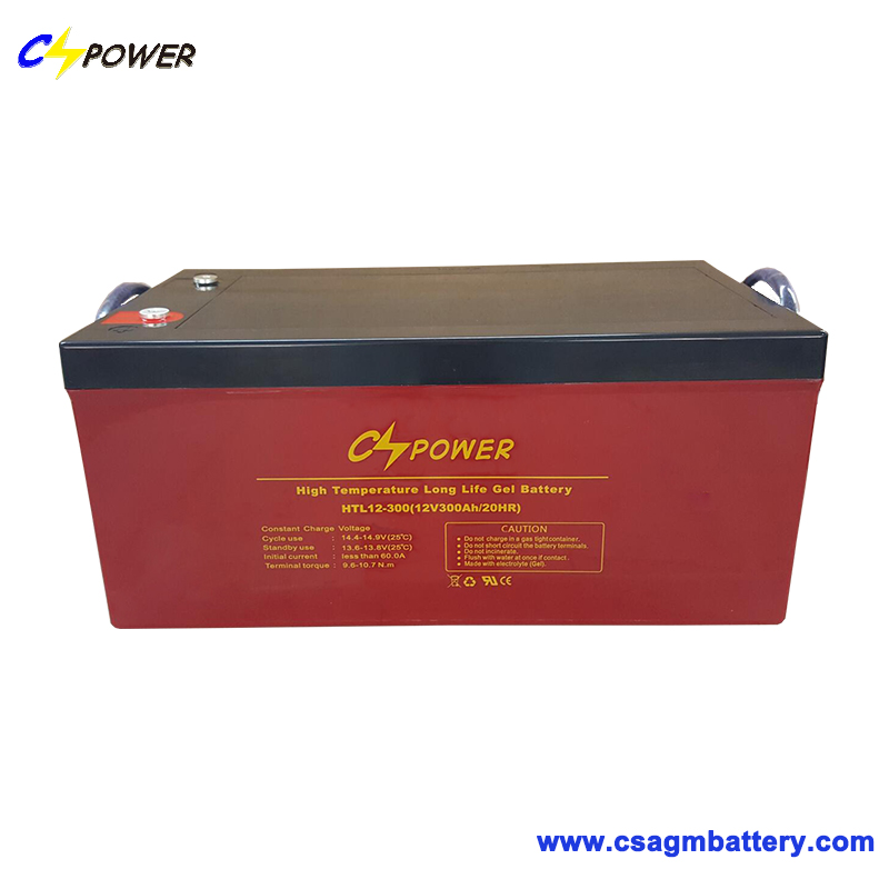 High Capacity 12V 120ah Gel Battery with Long Service Life