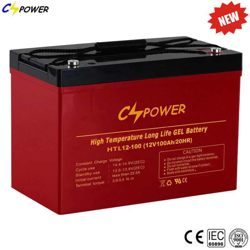 Cspower Deep Cycle Gel-Cell Battery, Selaed Gel Batteries 12V 100ah