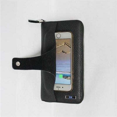 Anti Theft Anti Lost Fashion PU Leather Wallets Best Design Bifold RFID Card Unique Men Wallet Male Purse Black