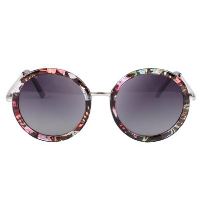 Vintage Steampunk Fashion Sunglasses Round Designer Steam Punk Alloy Women Coating Retro Eyewear Sun Glasses Cool Design