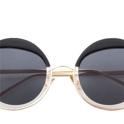 2016 Fashion Multicolour Mercury Mirrorglasses Female Sunglasses Women Coating Sunglass Round Ultra-light