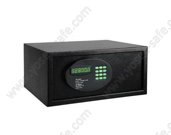 Electronic room safes for hotel guestroom