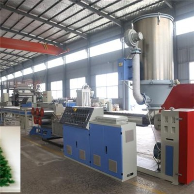 Artificial Christmas Tree Pet Pine Needle Filament Making Machine