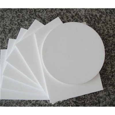 Powder Hopper White Plate