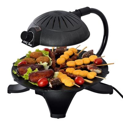 Adjustable Electric BBQ Grill Korean 3D Infrared Electric Barbecue Grill Smokeless Electric Roaster Oven Indoor Electric Barbecue Grills