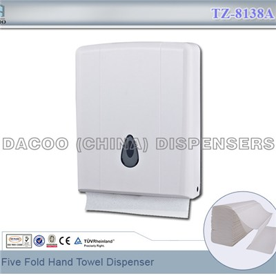 TZ-8138A Five Fold Hand Towel Dispenser