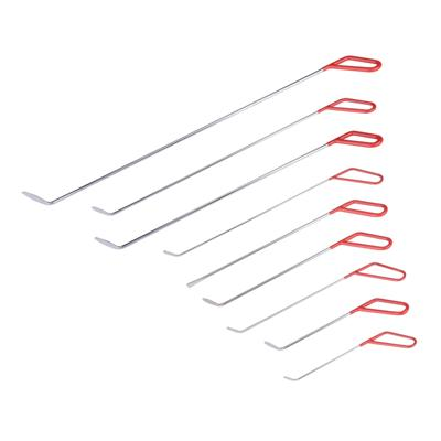 High Quality PDR Rods 9 Pieces Red PDR Hooks