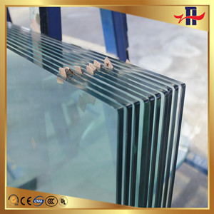 new style best selling tempered building glass toughened glass for building