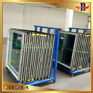 top grade OEM double glass low-e aluminium glass window manufacture