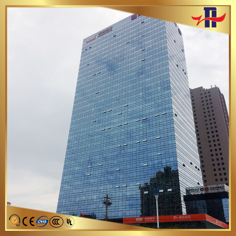 durable hot sale glass panel for curtain wall